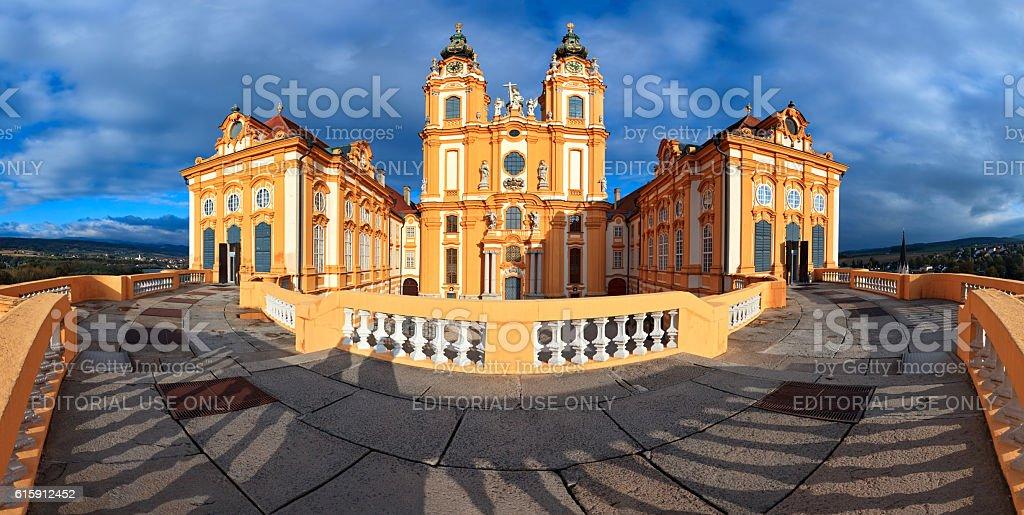 Melk Abbey, Lower Austria stock photo