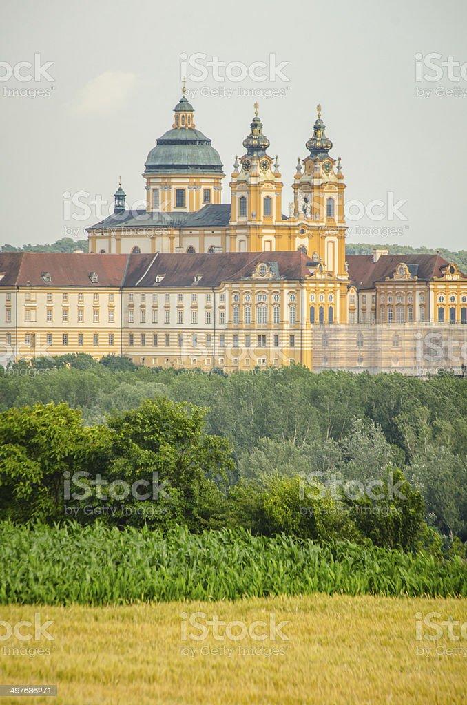 Melk Abbey royalty-free stock photo