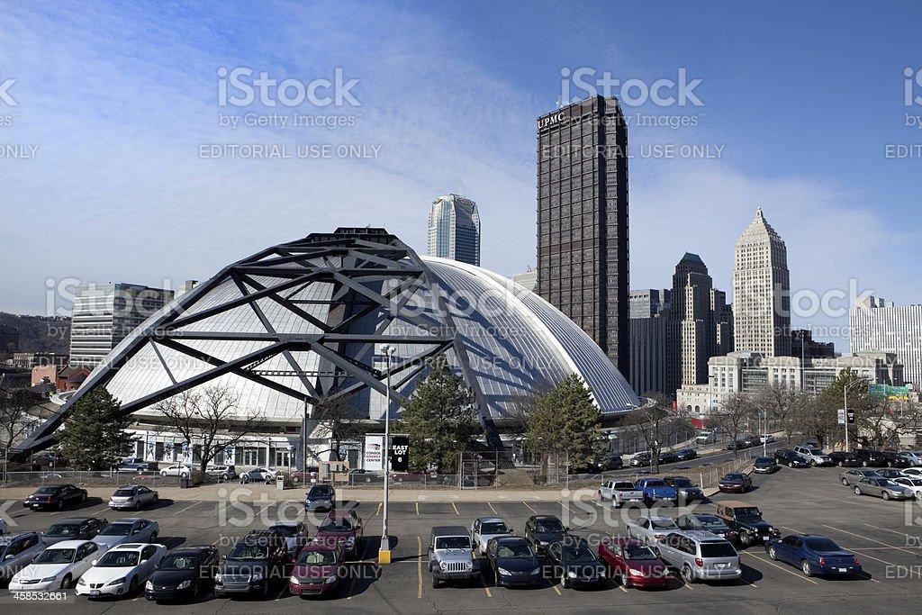 Mellon Arena - Pittsburgh PA stock photo