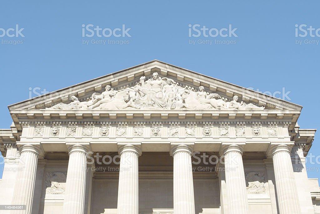 Mellon Auditorium Imposing Neo-Classical Government Building in Washington, DC, USA royalty-free stock photo