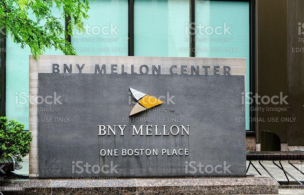 BNY Mellon Center stock photo