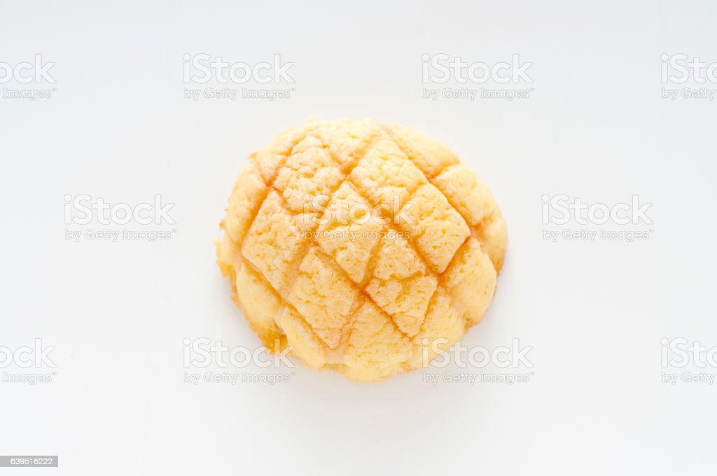 Melon pan stock photo