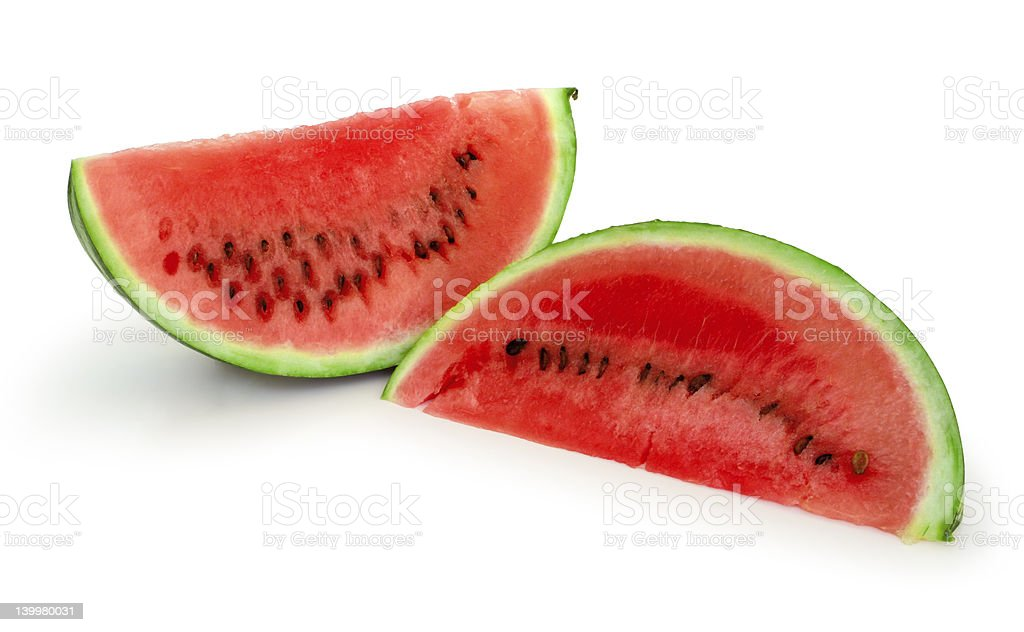 Melon slices royalty-free stock photo