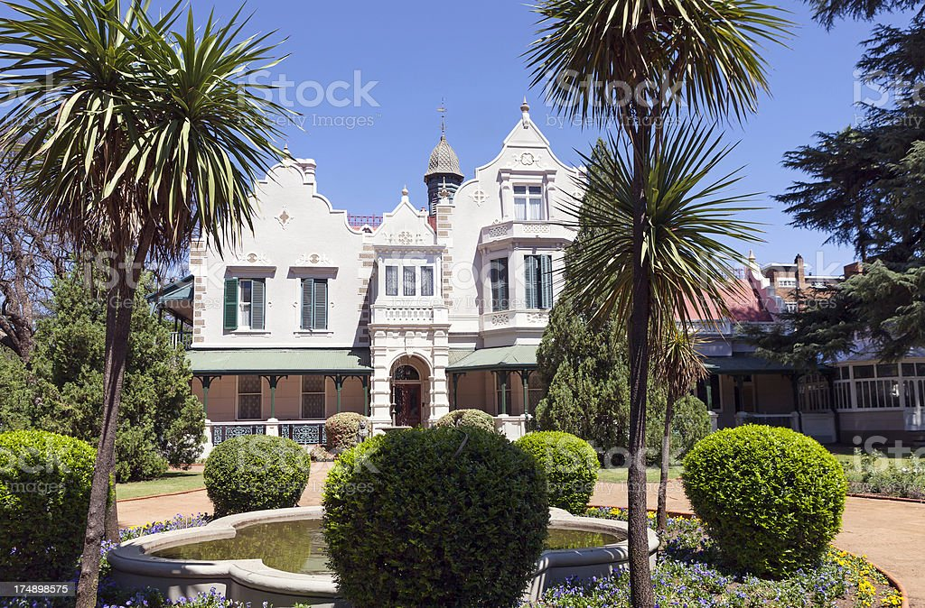 Melrose House in Pretoria / Tshwane stock photo