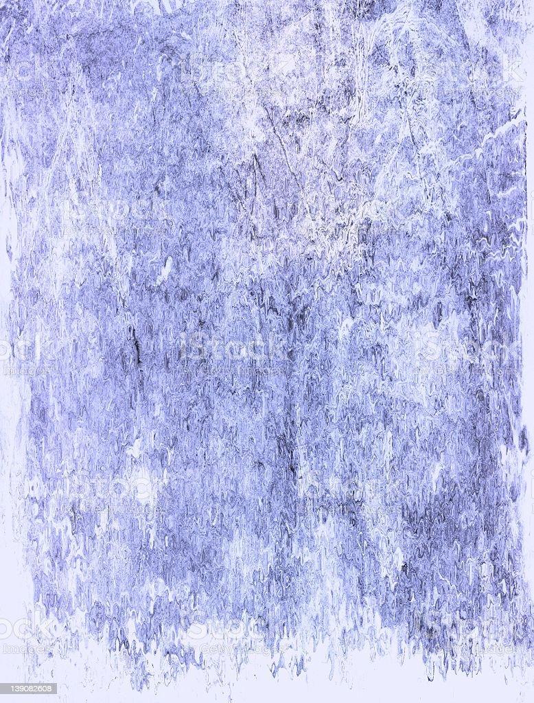 melting blue stock photo