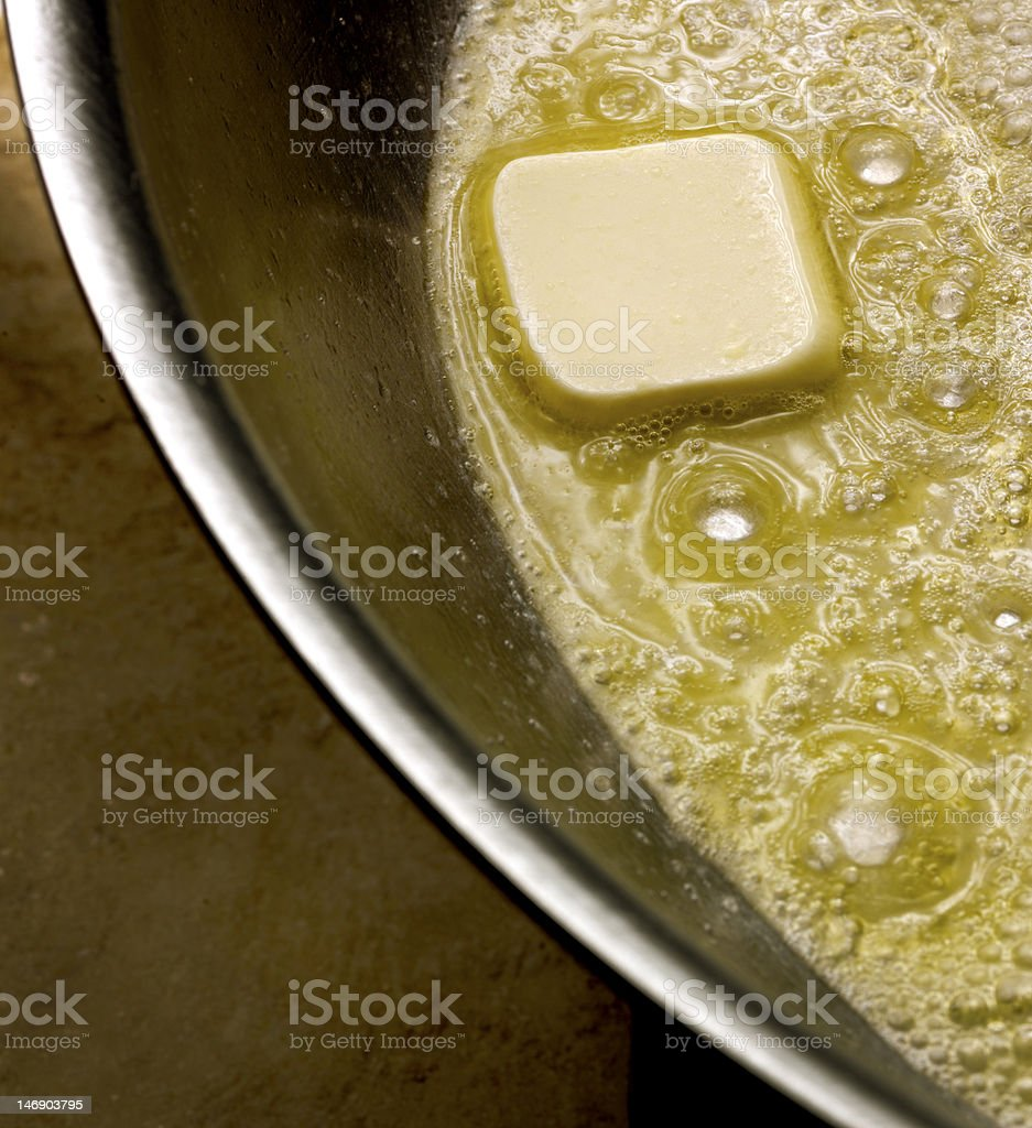 Melting Butter royalty-free stock photo