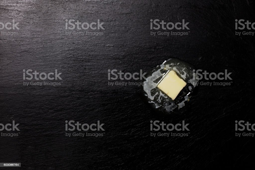 Melting Butter stock photo