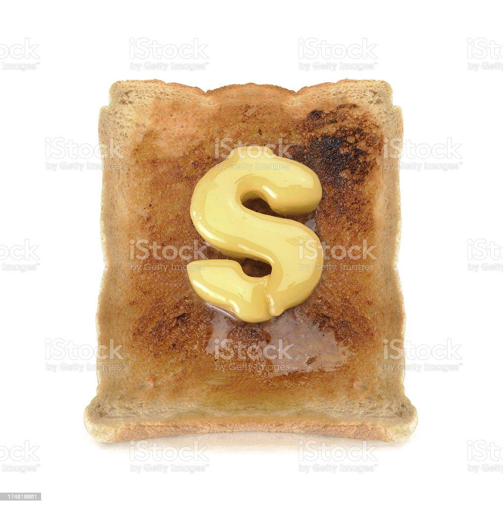 melting dollars royalty-free stock photo