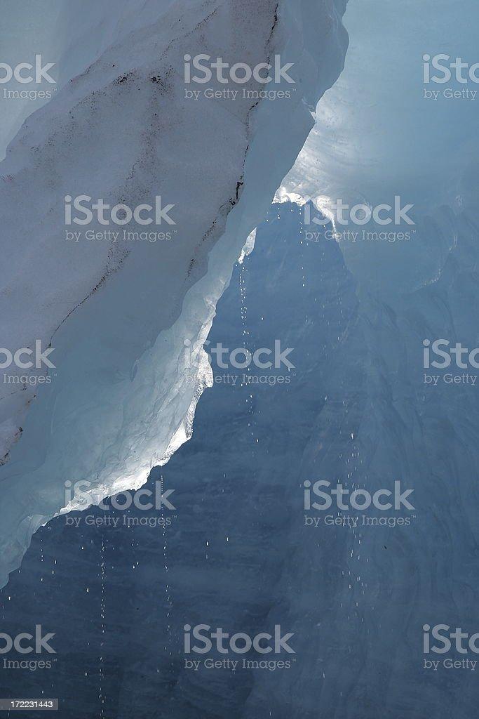 Melting glacier! royalty-free stock photo