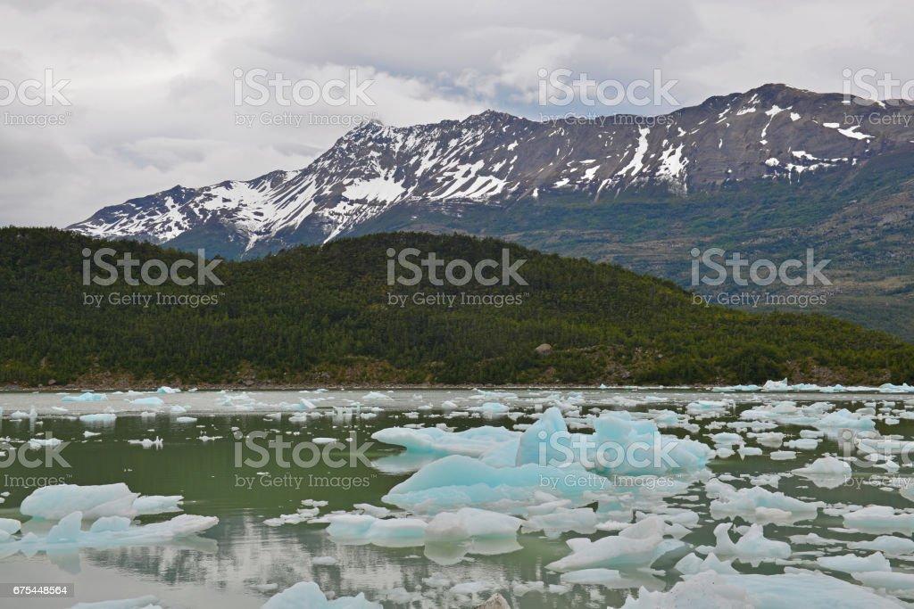 Melting Glacier stock photo
