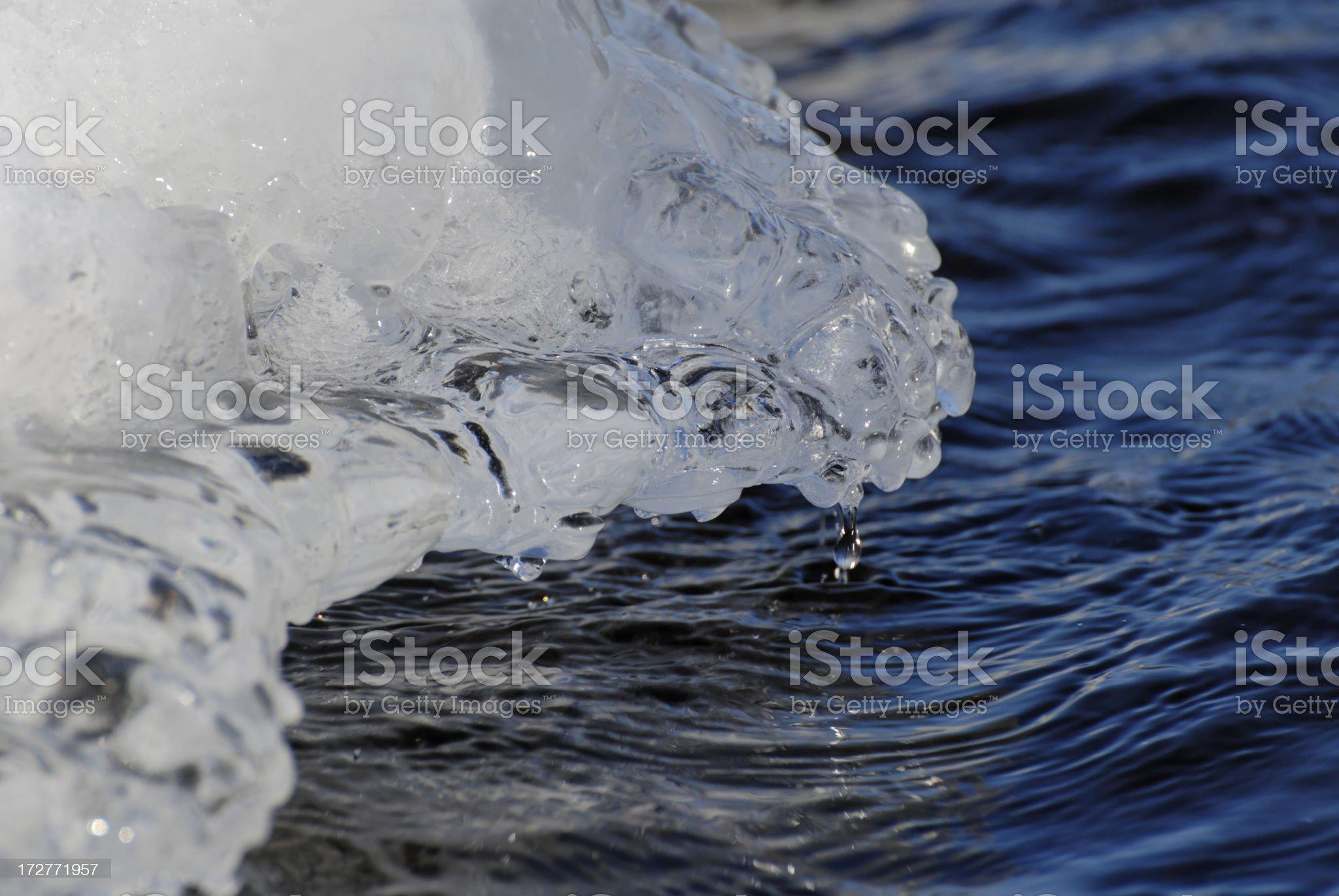 Melting Ice 2 royalty-free stock photo
