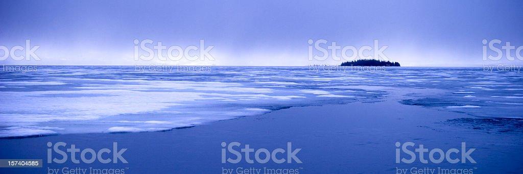 Melting ice royalty-free stock photo