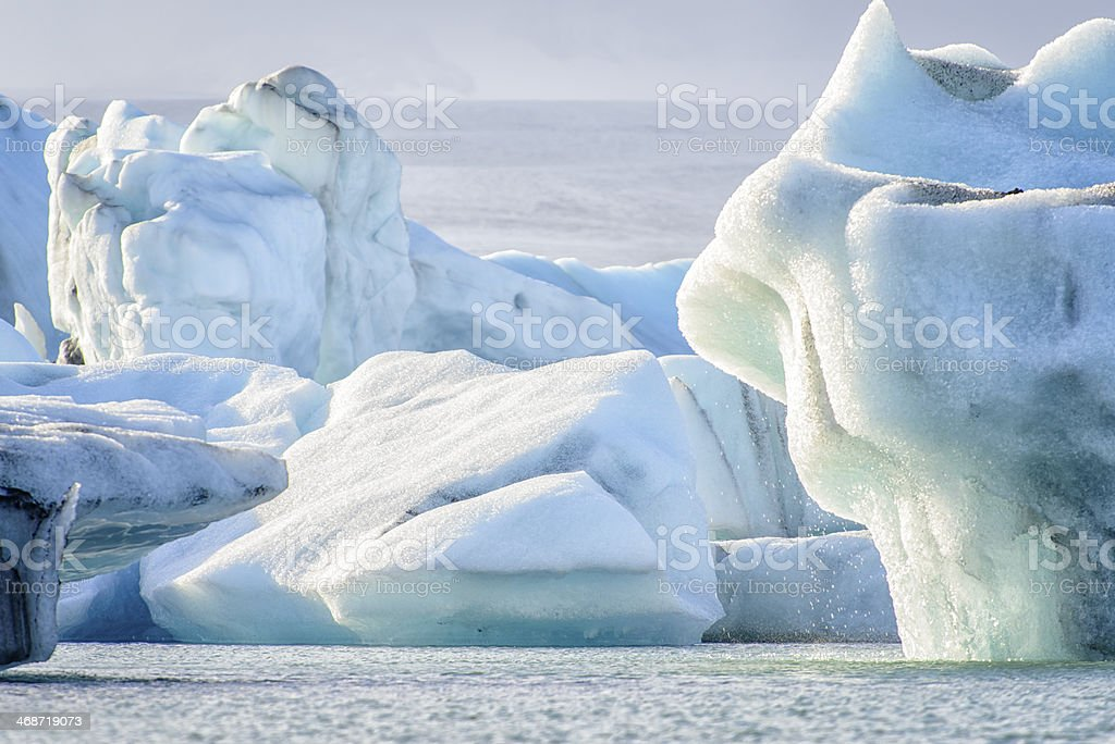 Melting Icebergs stock photo