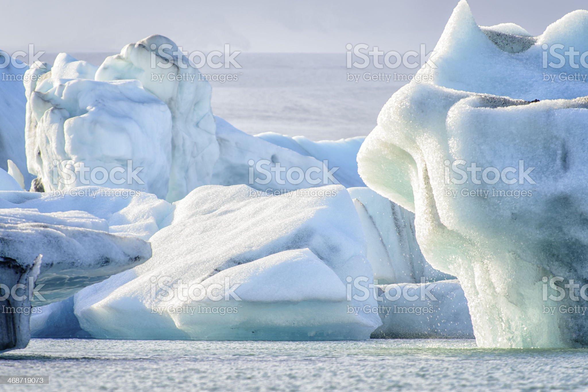 Melting Icebergs royalty-free stock photo