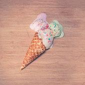 Melting Ice-Cream Cone