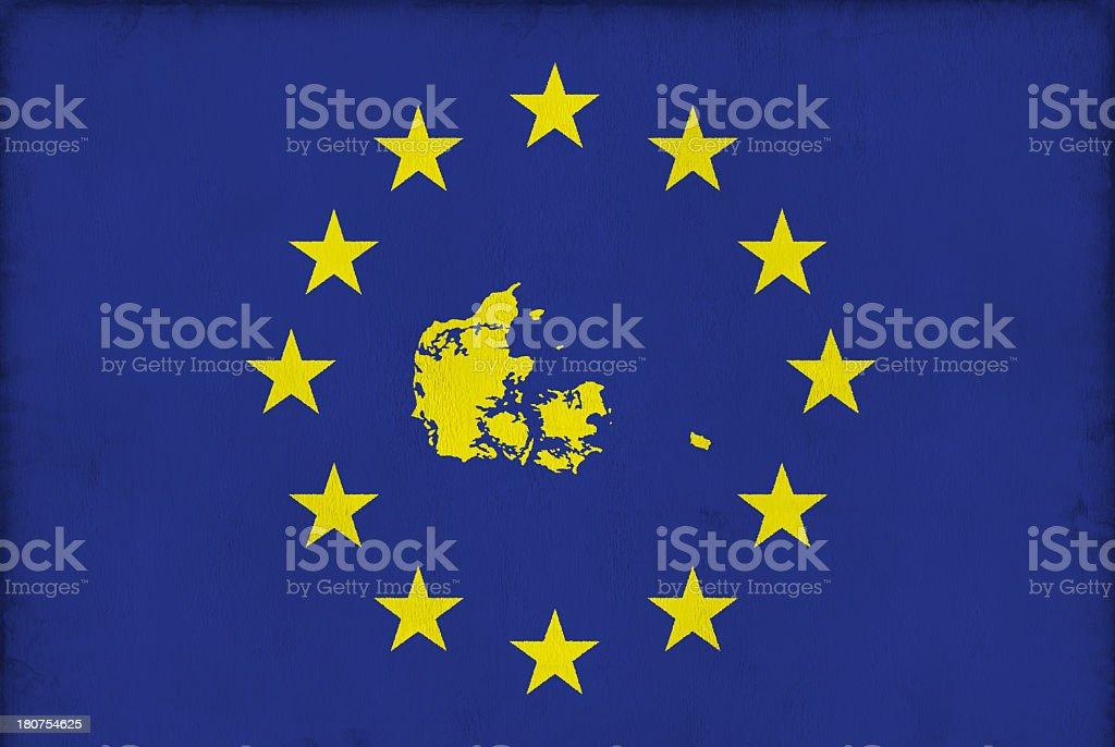 EU Member States: Denmark royalty-free stock photo