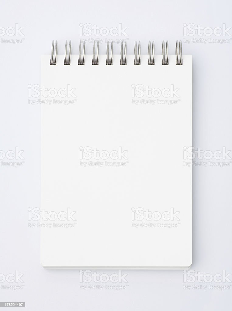 memo pad royalty-free stock photo
