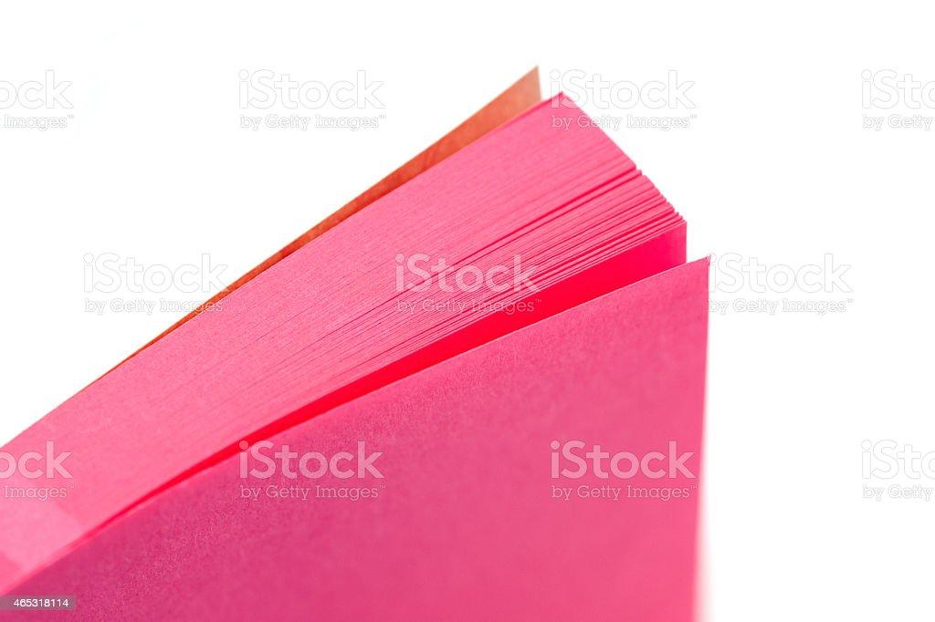 memo pad stock photo