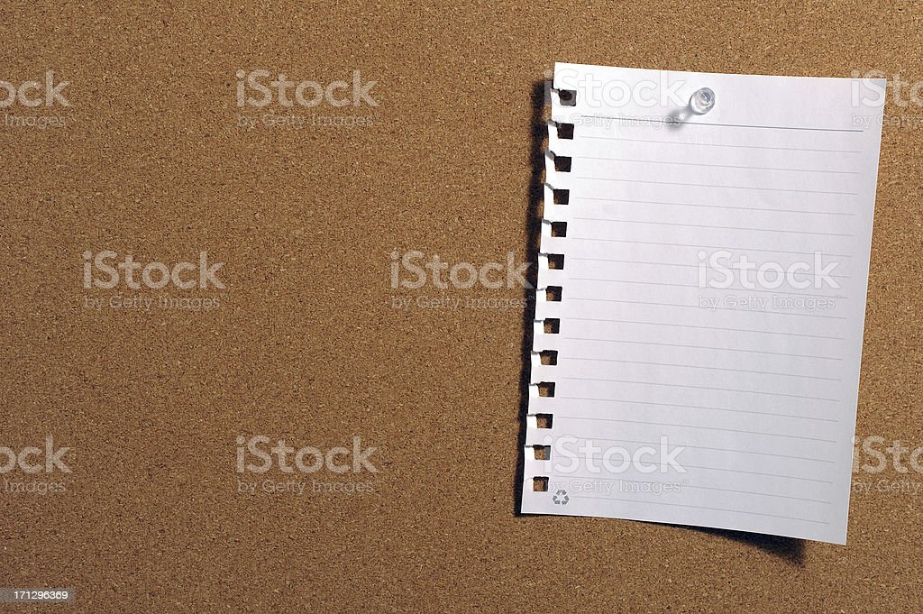 Memo royalty-free stock photo