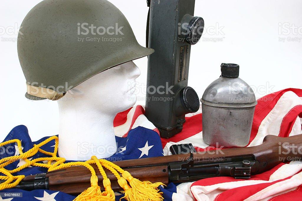 WWII memorabilia royalty-free stock photo