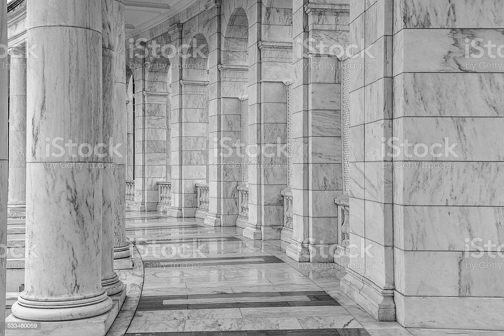 Memorial anfiteatro foto royalty-free