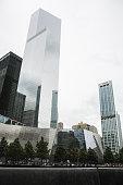 9/11 memorial and 4 World Trade Center