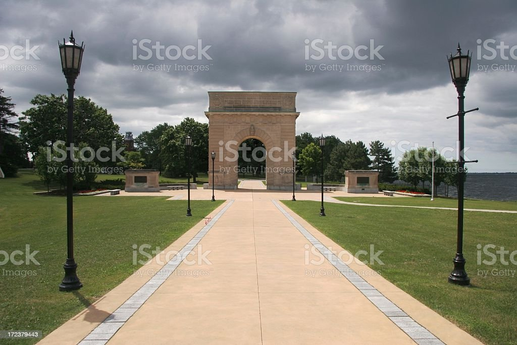Memorial Arch royalty-free stock photo