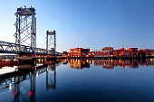 Memorial Bridge in Portsmouth, New Hampshire