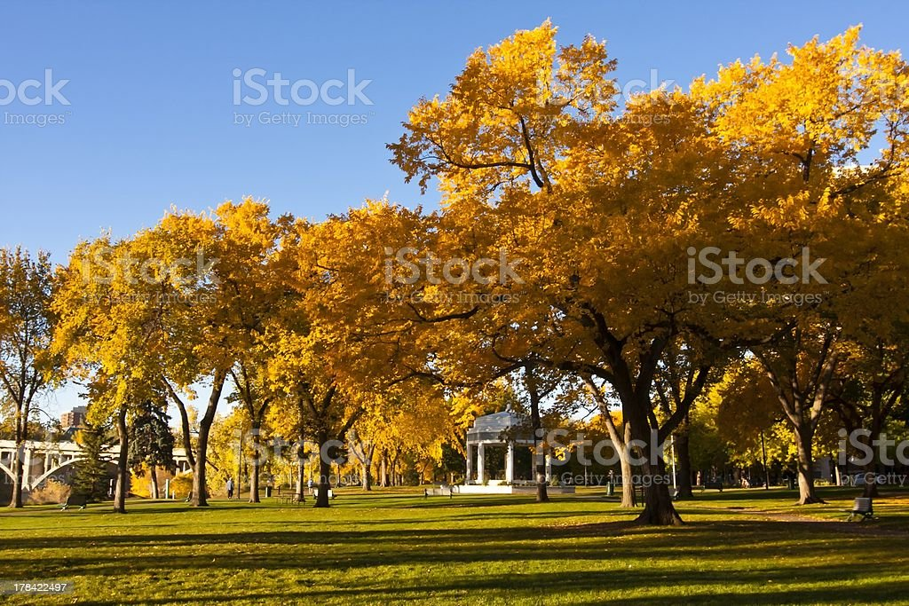 Memorial Building in Saskatoon, Canada royalty-free stock photo