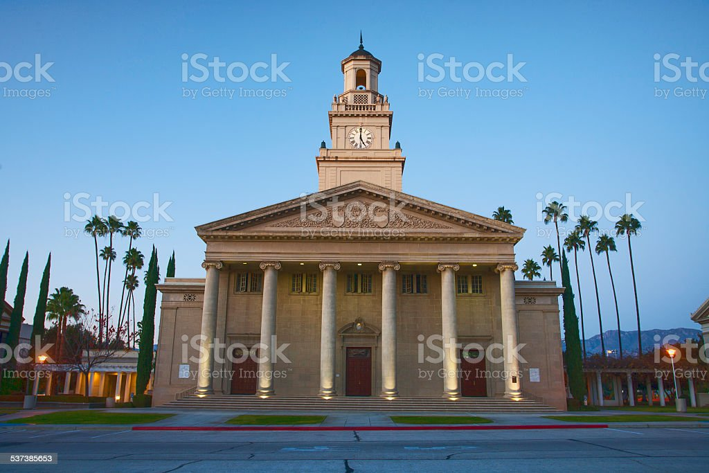 Memorial Chapel stock photo