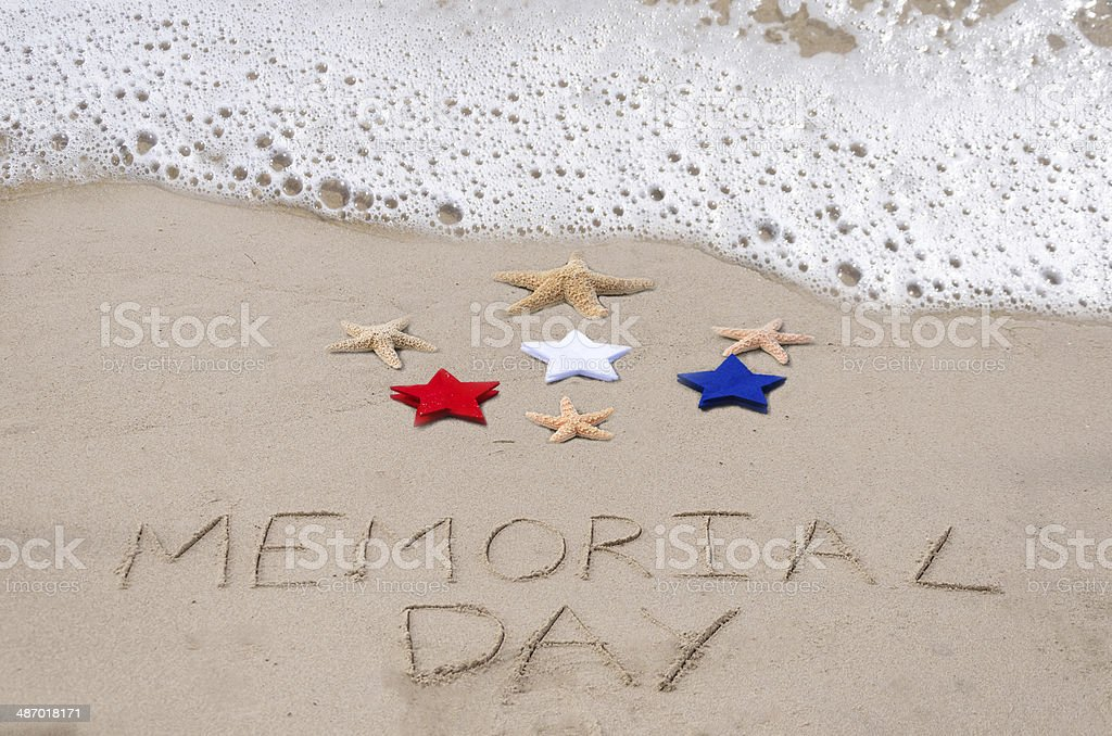 Memorial day background royalty-free stock photo