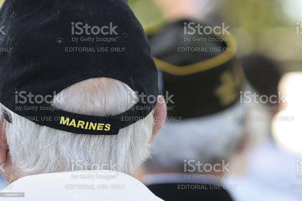 Memorial Day honor stock photo