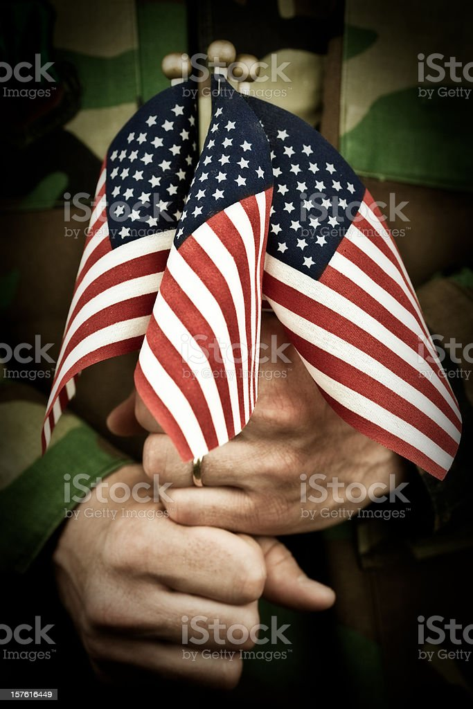 Memorial Day Remembrance royalty-free stock photo
