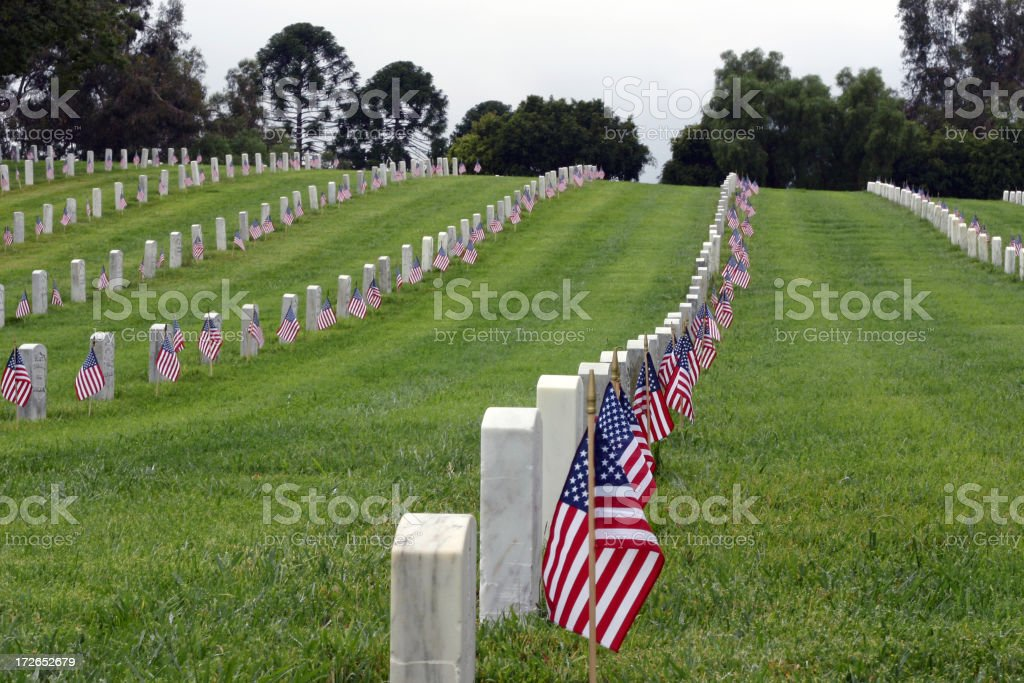 Memorial Day Series royalty-free stock photo