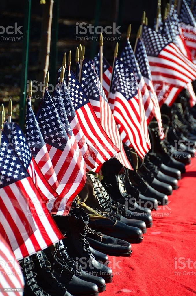 Memorial for Fallen Soldiers stock photo
