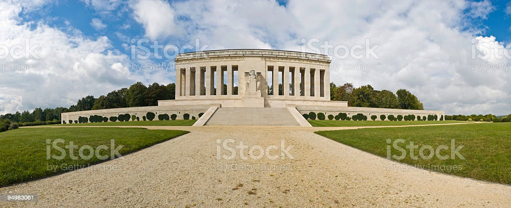WWI US Memorial France stock photo
