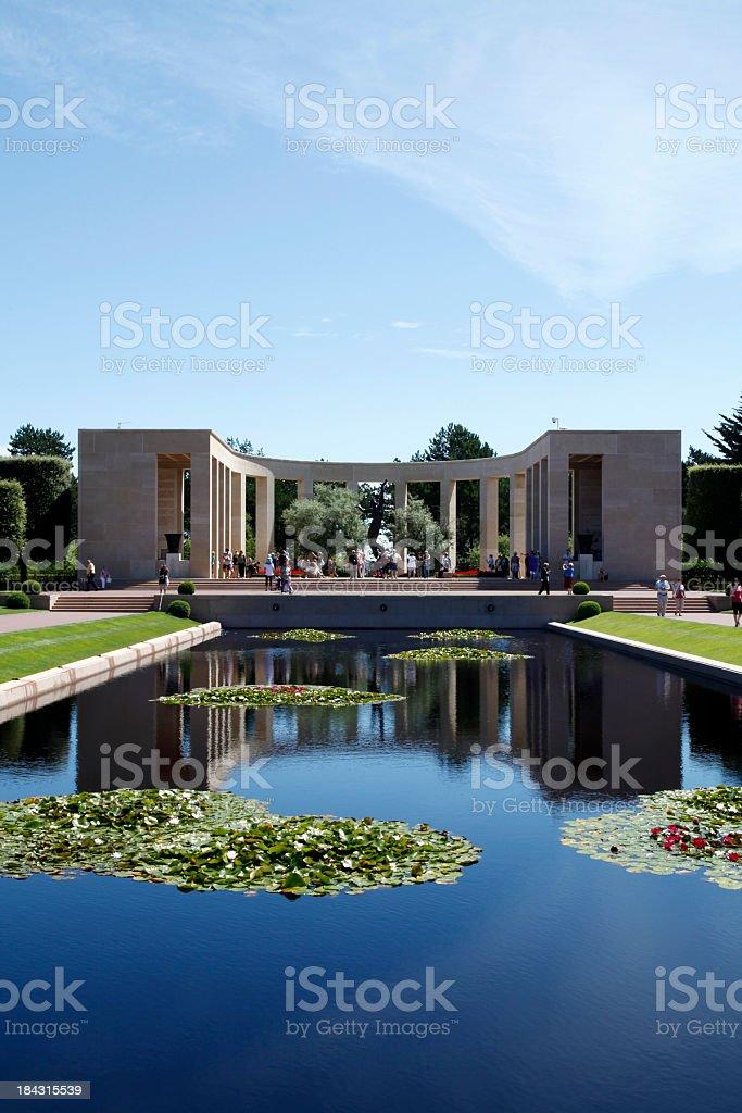Memorial monument stock photo
