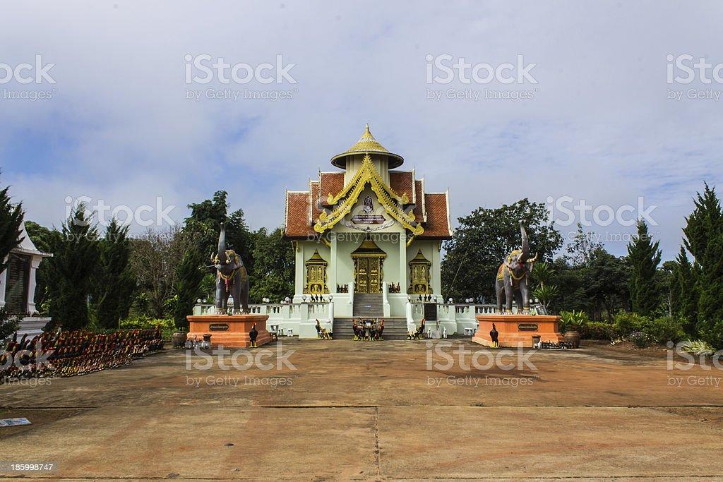 Memorial of King Naresuan stock photo