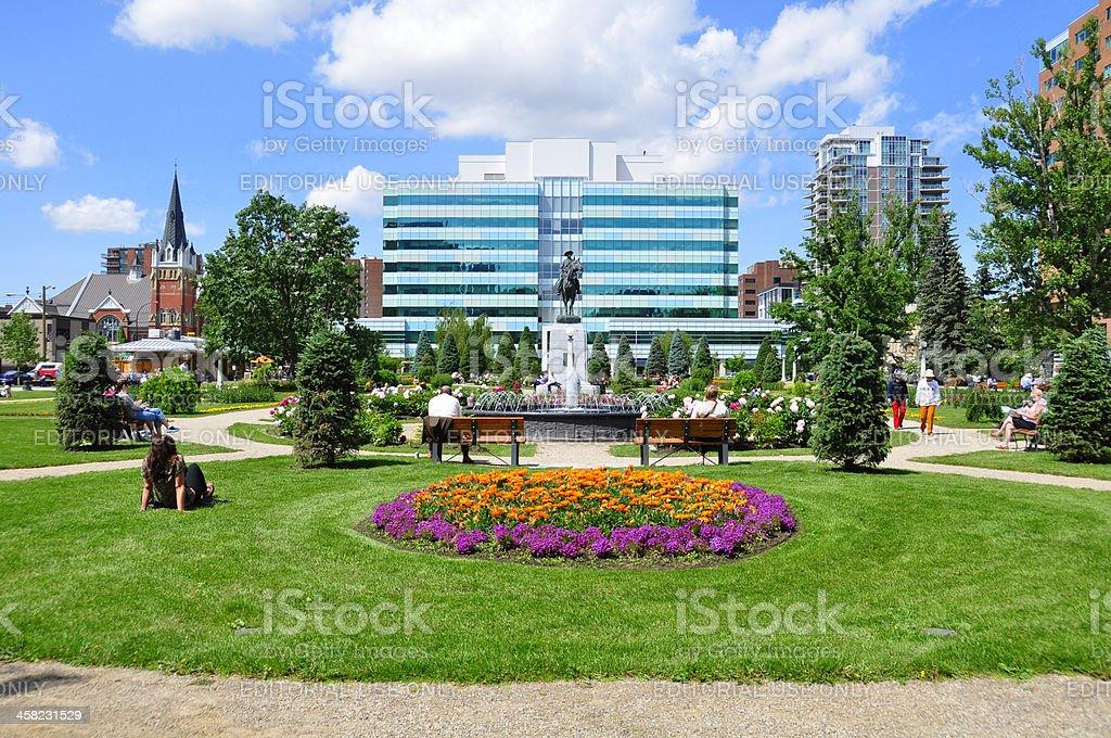 Memorial Park, Calgary royalty-free stock photo
