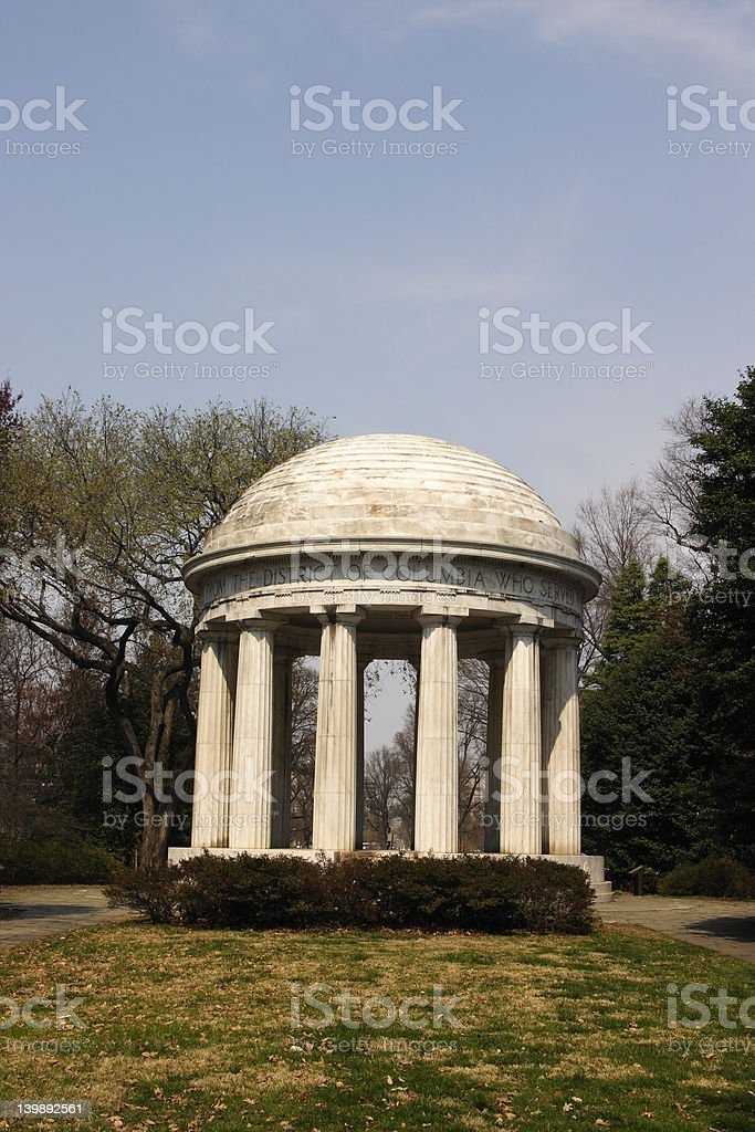 WW I Memorial royalty-free stock photo