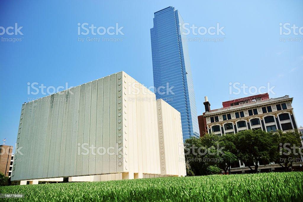 JFK memorial. royalty-free stock photo