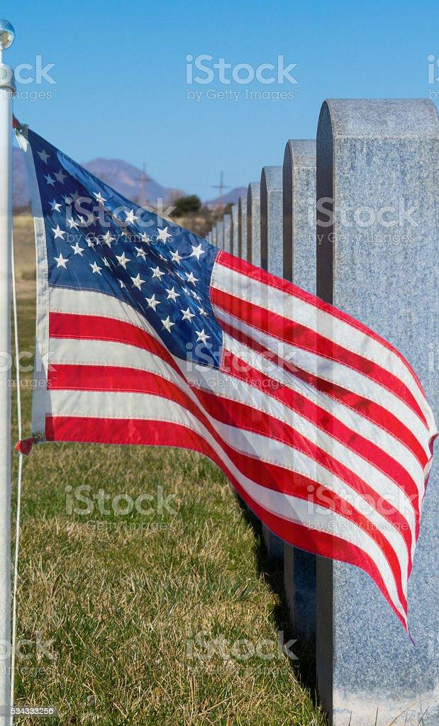 Memorial stock photo