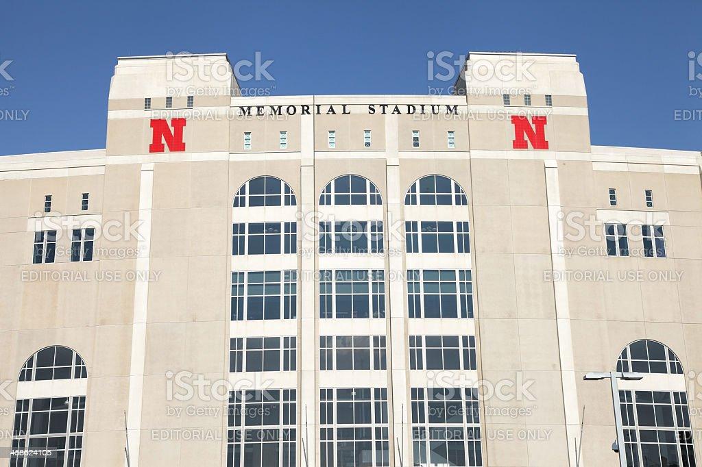 Memorial Stadium stock photo