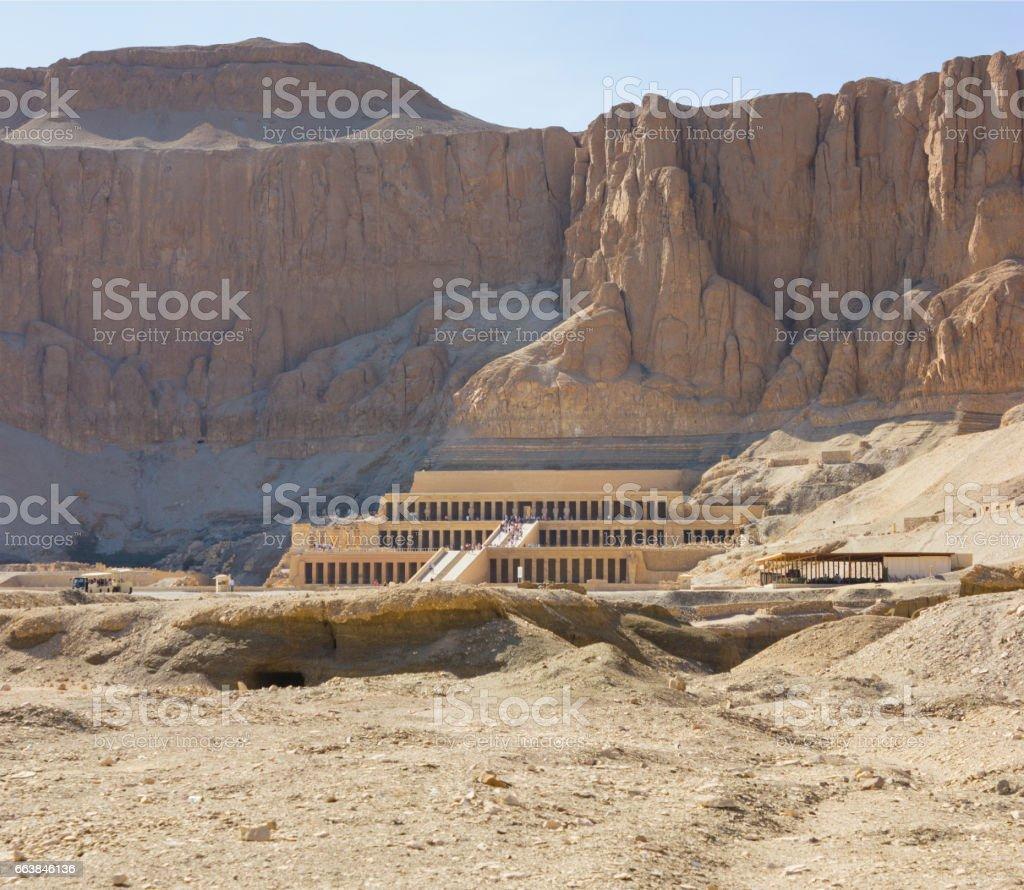 Memorial Temple of Hatshepsut . Luxor, Egypt stock photo