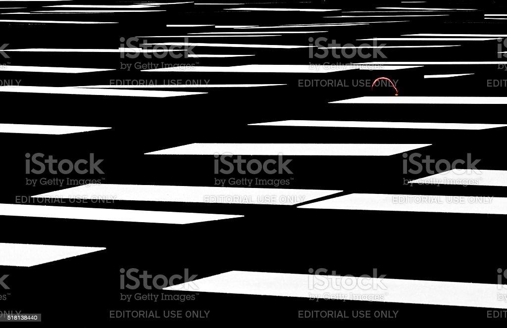 Memorial to Murdered Jews stock photo