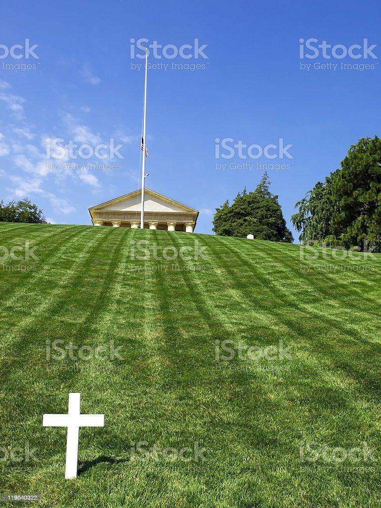 JFK Memorial, Washington royalty-free stock photo