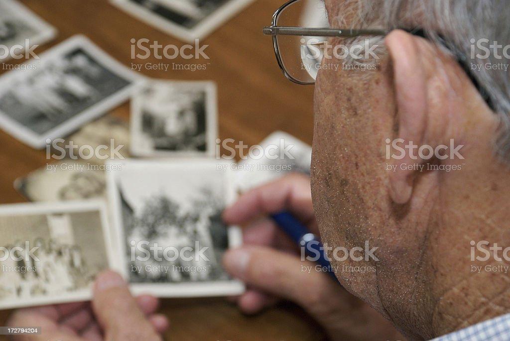 Memories of a Senior Citizen royalty-free stock photo
