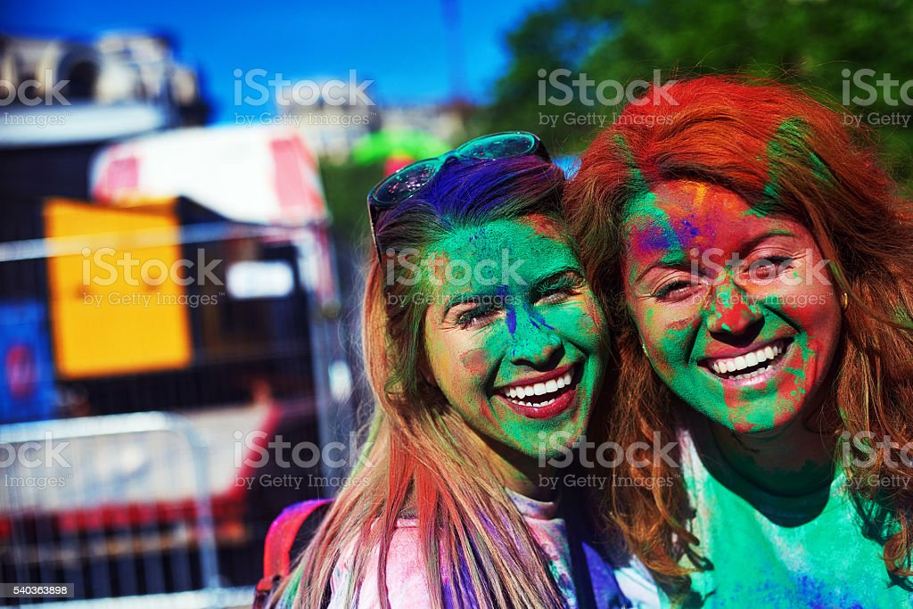 memories of joy and party stock photo