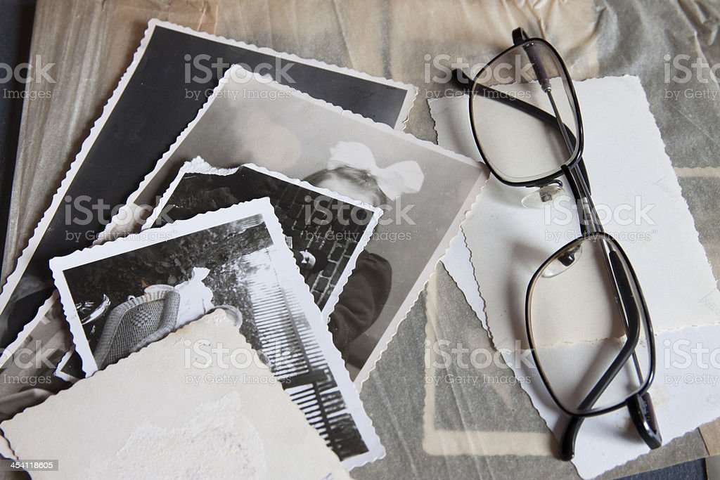 Memories photos stock photo