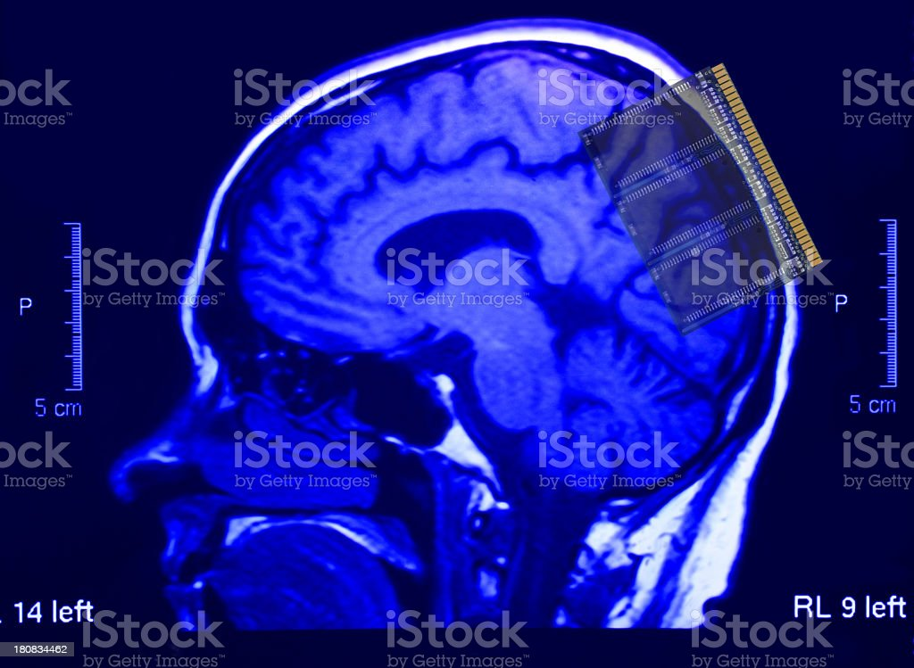 Memory booster stock photo